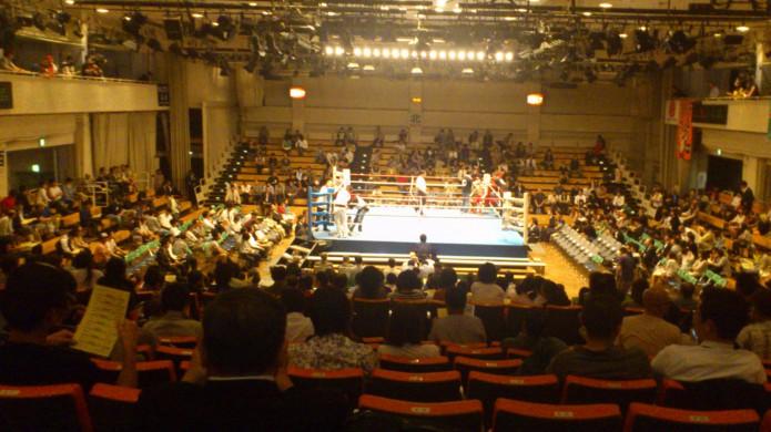 ボクシング試合写真